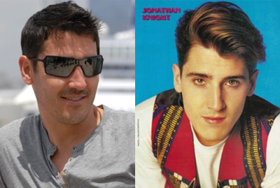 Jonathan Knight assume