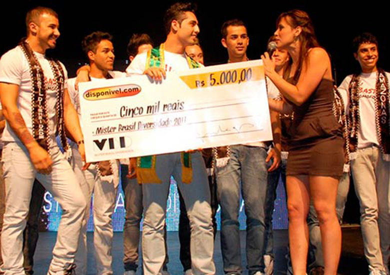 Final do Mr Brasil Diversidade 2011.