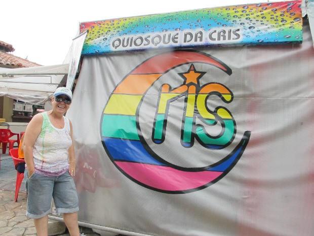 Cris montou o negócio sem pensar que seria sucesso para o público LGBTS (Foto: Anna Gabriela Ribeiro)