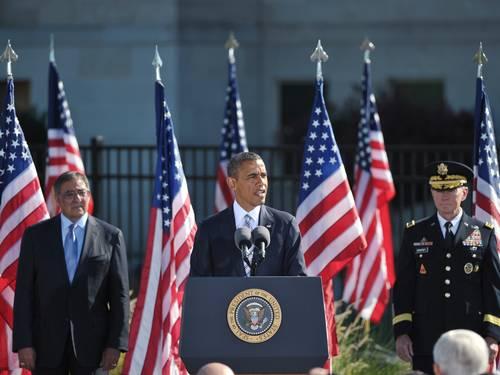 Obama, em discurso no Pentágono