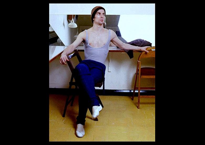 Bailarino Rudolf Nureyev em 1974.